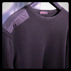 975fe7156029ea Authentic Prada Asymmetrical Shirt Sweater